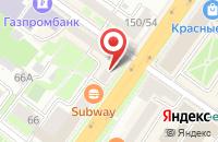 Схема проезда до компании Альфа-Банк в Подольске
