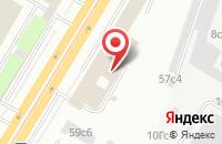 Схема проезда до компании Альфа Текс в Москве