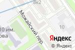 Схема проезда до компании Общественный пункт охраны порядка Западного административного округа в Москве