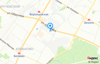 Местоположение на карте пункта техосмотра по адресу г Москва, ул Введенского, д 4А
