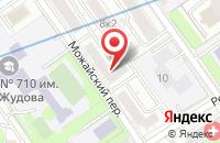 Схема проезда до компании Онтипус в Москве