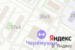 Схема проезда до компании Малышев Додзе в Москве