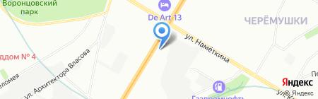 Хонда-Ровер-Мини на карте Москвы