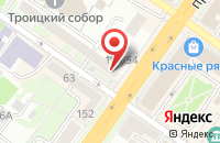 Схема проезда до компании Wikimart в Подольске