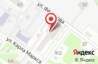Схема проезда до компании Уникор в Подольске