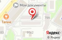 Схема проезда до компании Комустрейд в Москве