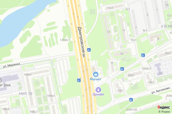 Ремонт телевизоров Район Северный на яндекс карте