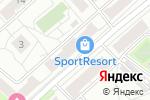 Схема проезда до компании Креативный ход в Москве