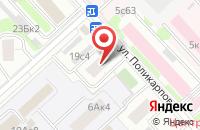 Схема проезда до компании Петекмаркет.ру в Москве