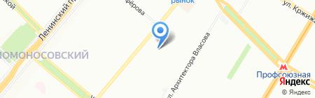 АиР на карте Москвы