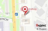 Схема проезда до компании Отдел Военного комиссариата Московской области в Подольске