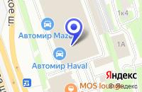 Схема проезда до компании АВТОСЕРВИСНОЕ ПРЕДПРИЯТИЕ ИЛЕКСА-М в Москве
