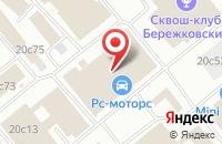 Схема проезда до компании Строй-Подряд в Москве