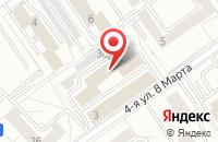 Схема проезда до компании Системы Навигации и Времени в Москве