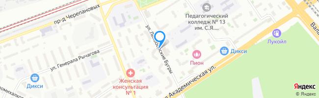 улица Лихоборские Бугры