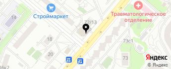 IZap на карте Москвы
