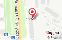 Схема проезда до компании Мегаполис Групп в Подольске