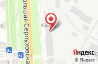 Схема проезда до компании Галеон в Подольске