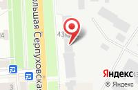Схема проезда до компании Модус« Производственное Объединение» в Подольске