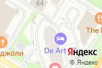 Схема проезда до компании 36,6 в Москве
