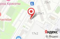 Схема проезда до компании Терра 21 Век в Москве