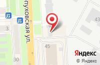 Схема проезда до компании ЕВМ Групп в Подольске