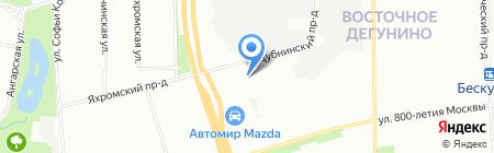 SHISHI на карте Москвы