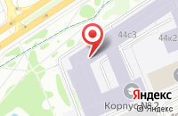 Схема проезда до компании Научно-Производственное Предприятие «Ангстрем» в Москве
