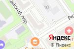Схема проезда до компании ИпоТек Банк в Москве