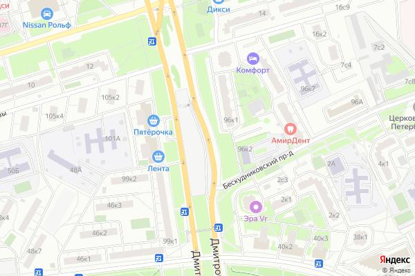 Ремонт телевизоров Дмитровское шоссе на яндекс карте