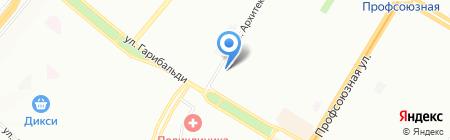 ОРТ-строй на карте Москвы