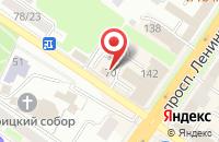 Схема проезда до компании Ваша Версия в Подольске