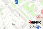 Схема проезда до компании Компания М+М в Москве
