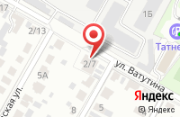 Схема проезда до компании Apex-Led в Подольске