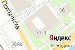 Схема проезда до компании ФИПС в Москве