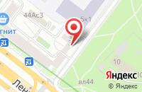 Схема проезда до компании Техникум в Москве