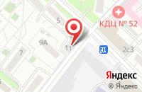 Схема проезда до компании Терион в Москве