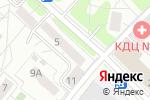 Схема проезда до компании СДВ в Москве