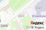 Схема проезда до компании Почтовое отделение №121151 в Москве