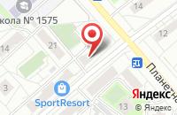 Схема проезда до компании Творческая Мастерская Андрея Рулина в Москве