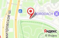 Схема проезда до компании Стрелец в Москве