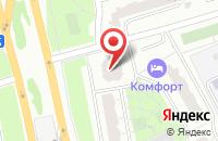Схема проезда до компании Техкомплект в Москве