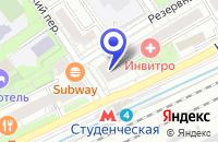 Схема проезда до компании САЛОН МЕБЕЛИ ДИВАН ДИВАНЫЧ в Москве