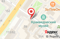 Схема проезда до компании Миал в Подольске