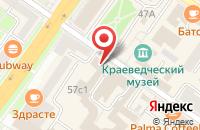 Схема проезда до компании Центр страхования в Подольске