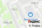 Схема проезда до компании ПРОДЕСТ в Москве