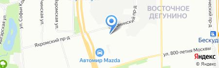Металл-Стрит на карте Москвы
