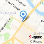 Клуб Клубок на карте Подольска