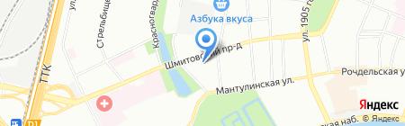 ЭЛАВиК на карте Москвы