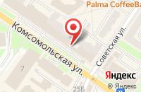 Схема проезда до компании Тофа в Подольске